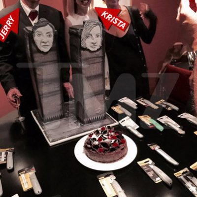 Devo Co-Founder Jerry Casale & Bride Have 9/11-Themed Wedding Reception (PHOTOS)