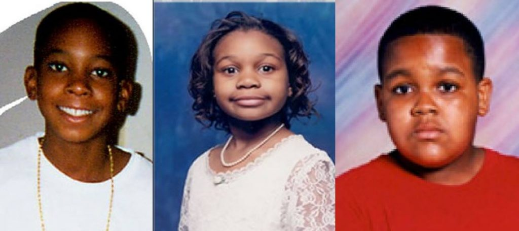 (left to right) Bernard C. Brown II, Asia S. Cottom, Rodney Dickens