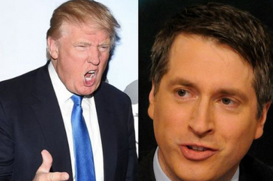 "Anti-PC? Donald Trump Calls for FCC to Fine Rich Lowry for ""Foul"" Fox News Comment"