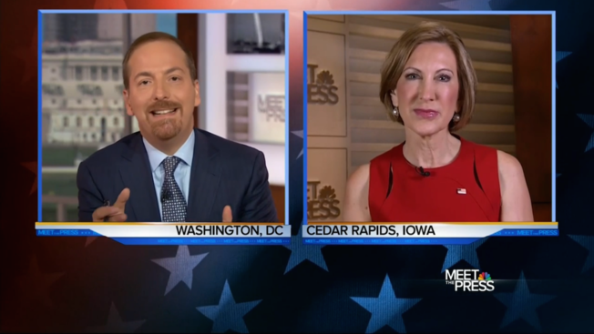 Fiorina Attacked by Chuck Todd and Planned Parenthood, Fends Them Off