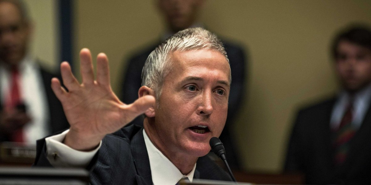 Trey Gowdy Eviscerates Cecile Richards at Planned Parenthood Hearing