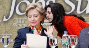 """I took care of the emails, Huma.... """