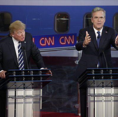 Election 2016 - Jeb Bush channels Al Gore