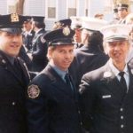 Joe and John Vigiano with their father
