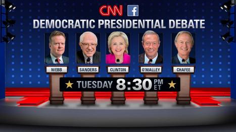 CNN #DemDebate: Meet the Candidates and Watch the Debate Live [LIVE VIDEO]
