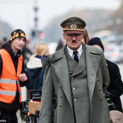 Actor Dressed as Hitler for Movie Embraced by Germans (Video)