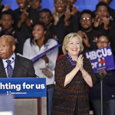 Black Lives Matter Protestors Disrupt Hillary Clinton Rally
