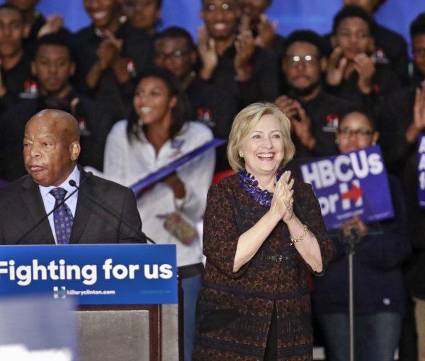 Black Lives Matter Protestors Disrupt Hillary Clinton Rally
