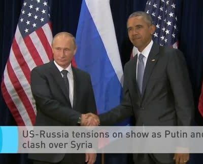 """Obama says Russia's action in Syria is a """"recipe for disaster"""""""