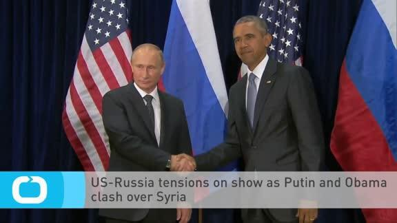 "Obama says Russia's action in Syria is a ""recipe for disaster"""
