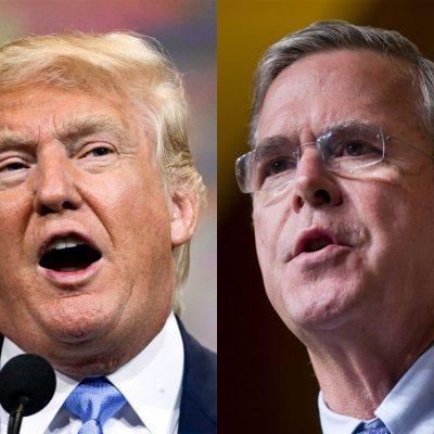 Trump's Feud With Jeb Bush Over 9/11 Remarks Escalates [Videos]