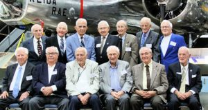 World War II veterans from the 416th Bomb Group