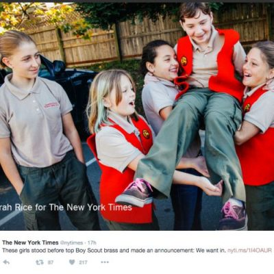 If girls join the Boy Scouts, is it really the Boy Scouts anymore?