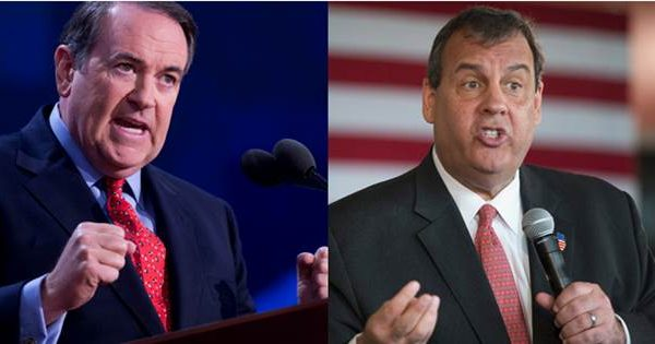Chris Christie & Mike Huckabee Fail to Qualify for Main Stage