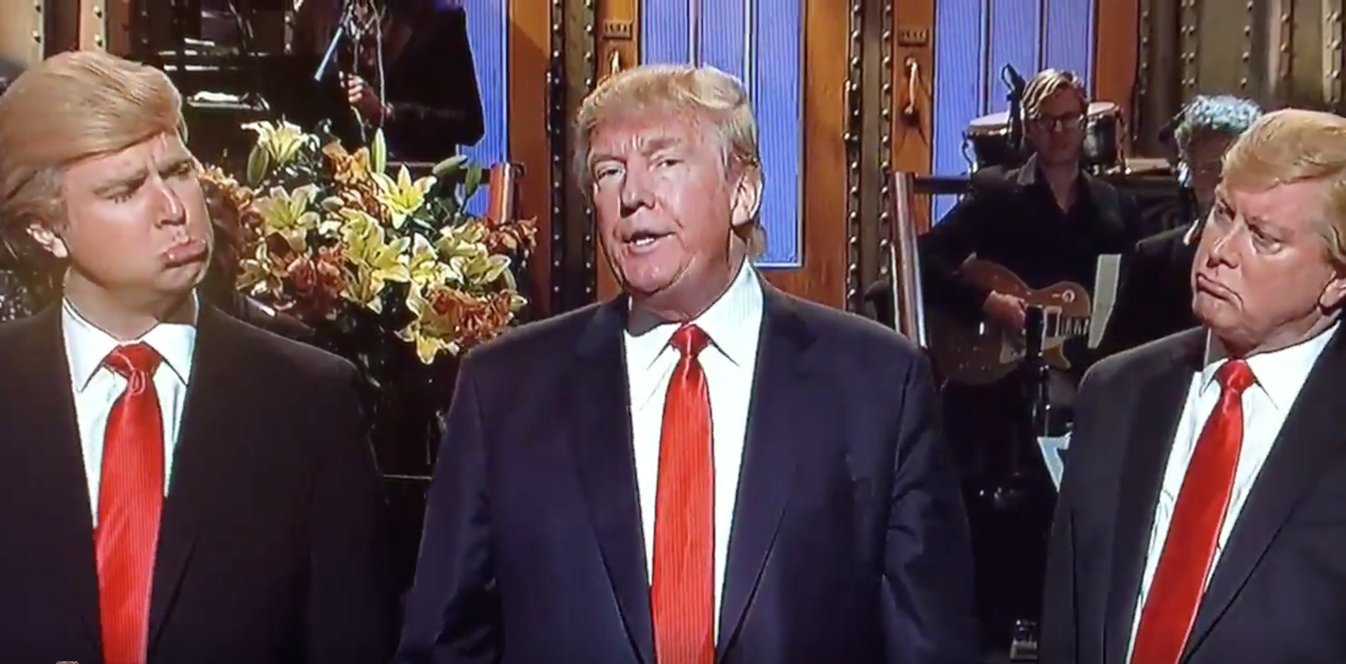 Donald Trump Makes Huuuge Appearance on Saturday Night Live (videos)