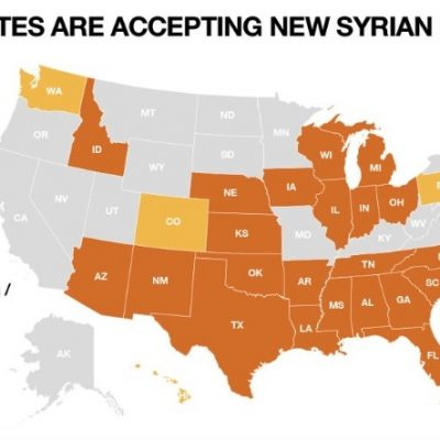 #SyrianRefugees: Governors Refusing Refugees Grows to 26 as Congress Moves to Halt Program