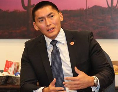 Republican Party Principles: Arizona Senator Carlyle Begay Switches Parties