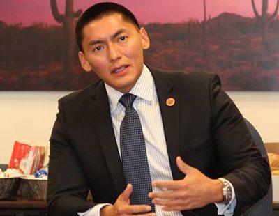 Republican Party Principles: Arizona Senator Carlyle Begay Switches Parties