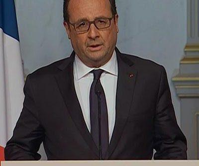 #ParisAttacks: French President Francois Hollande Makes Statement,