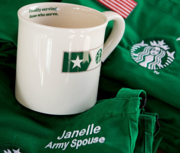 Starbucks Brews Up Free Tuition For Veterans Families
