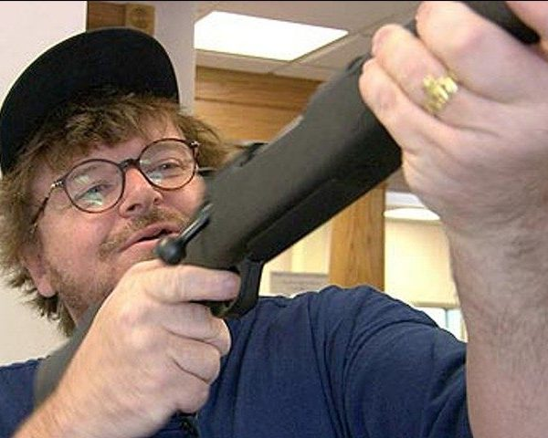 "Michael Moore Is At It Again: ""Guns Don't Kill People, AMERICANS Kill People"""