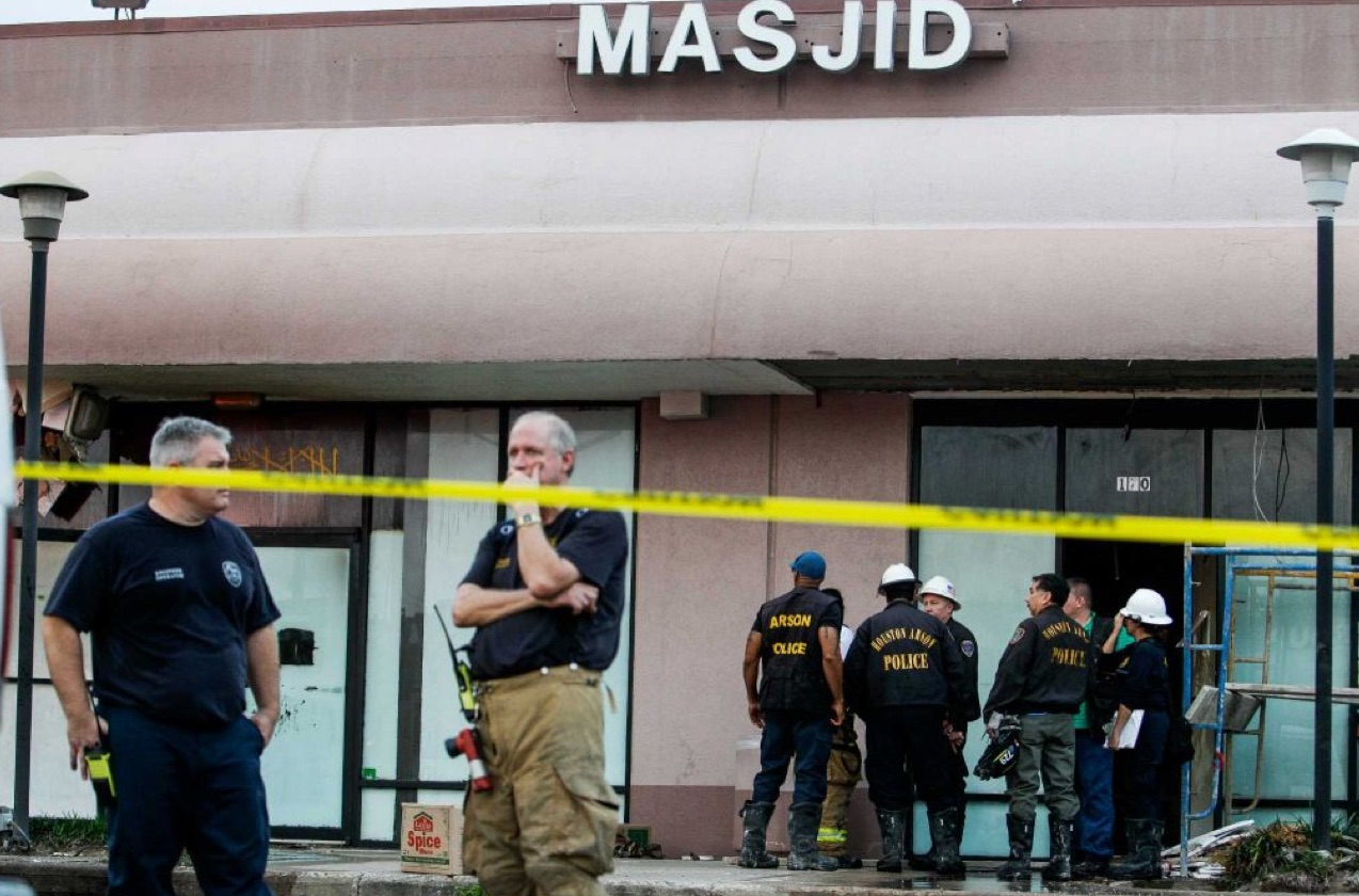 The Masjid Mosque in Houston (Photo Credit: Houston Chronicle)