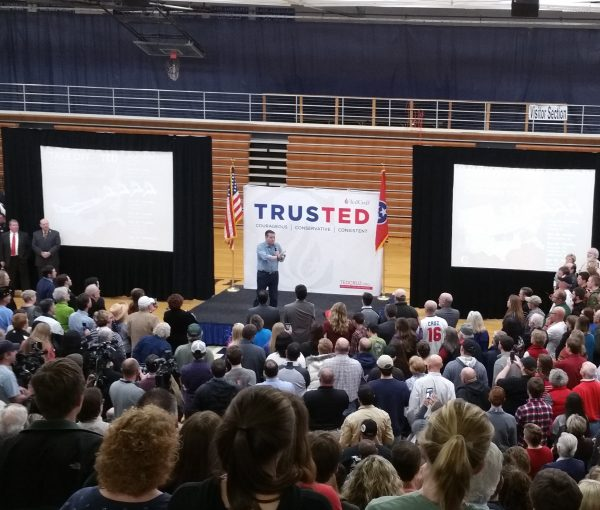Ted Cruz' Knoxville, Tennessee Rally