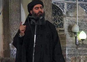 """ISIS self appointed """"leader"""" Abu Bakr Al-Baghdadi"""