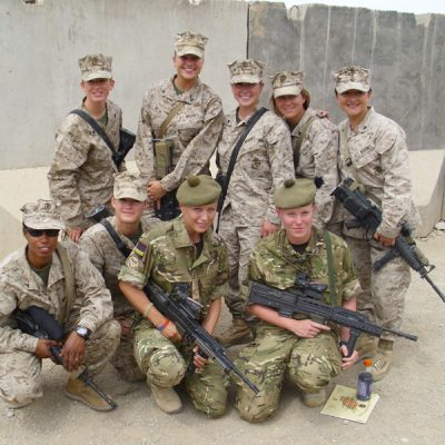 Where women can excel in combat roles - Female Engagement Teams