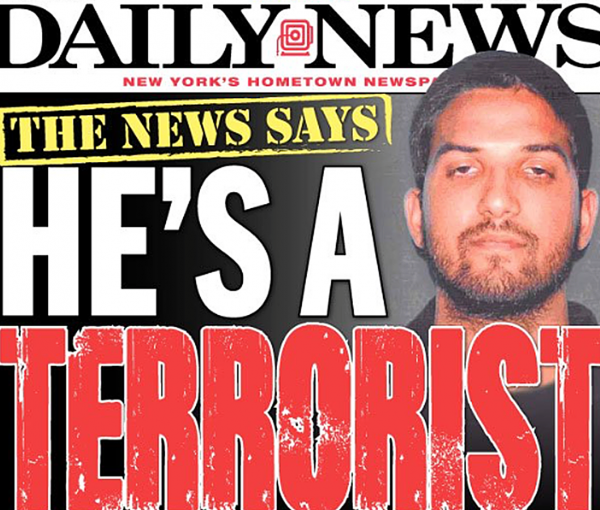 Wayne LaPierre is a Terrorist? New York Daily News More Unhinged Than Ever