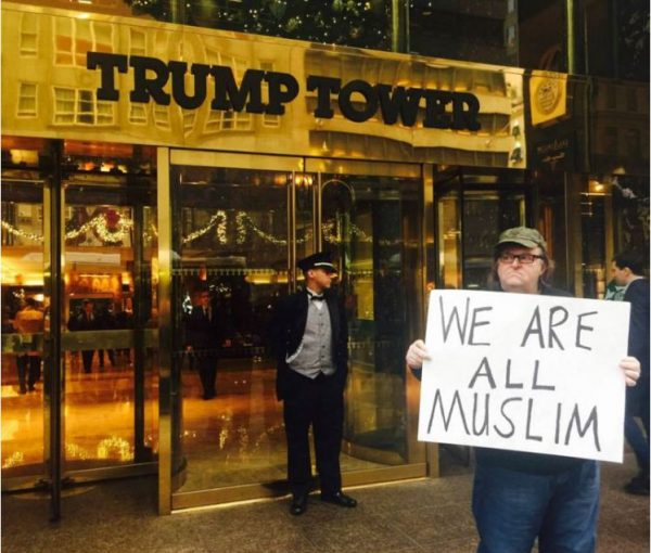 "Michael Moore Tells Donald Trump That ""We Are All Muslims"""