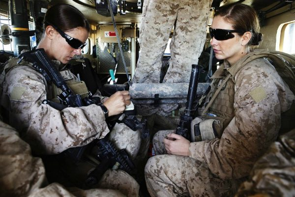 """Marines ordered to integrate training and remove the word """"man"""" from position titles"""