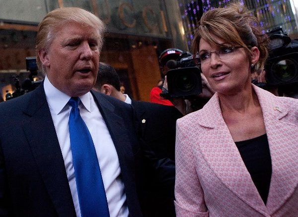 Donald Trump Campaign Circus Gets New Act With Sarah Palin Endorsement