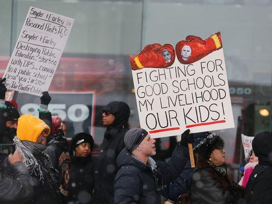 Detroit Public Schools: Who owns this?