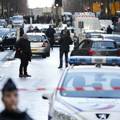 Paris Knife Attack on Charlie Hebdo Anniversary