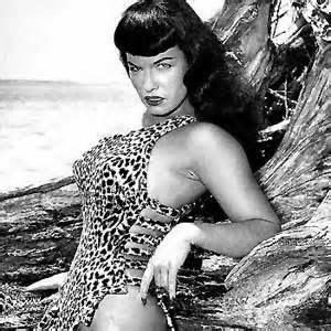 Bettie Page is an iconic pin-up to this day. No sluts here!