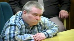 Steven Avery, the moment he heard his guilty verdict in the murder trial