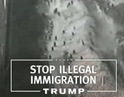 Trump's New Ad Features Moroccans Crossing Into Melilla, Not Southern Border