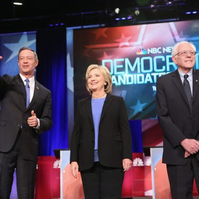 #DemDebate:  All White Candidates, Average Age 64.7!