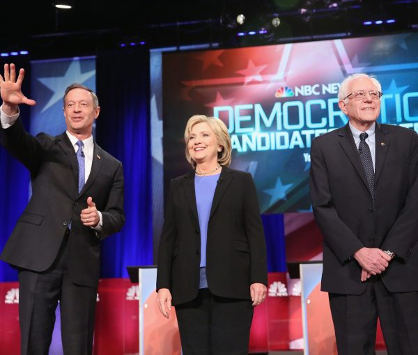 #DemDebate:  All White Candidates, Average Age 64.7!