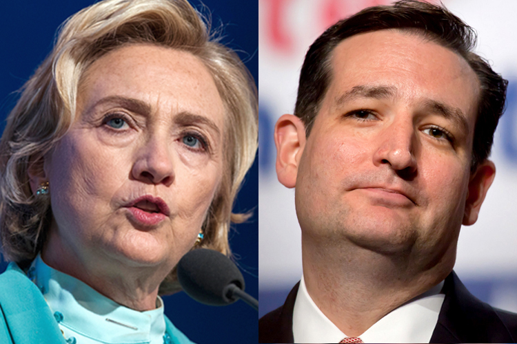Hillary vs. Ted in the Battle for the Nerd Vote