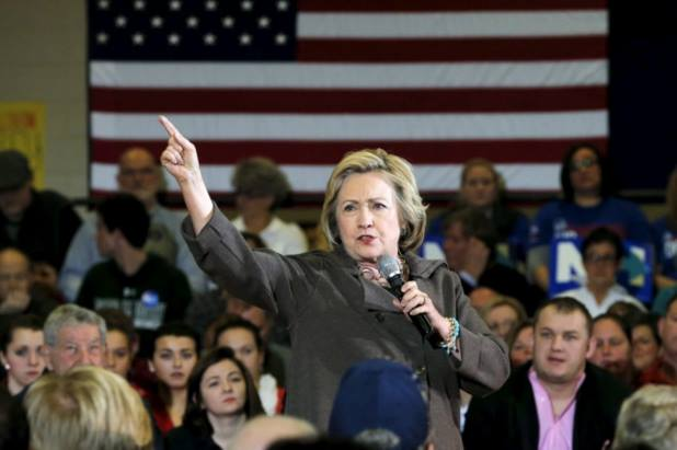 """Hillary at the Derry, NH rally yesterday - """"You aren't cleared to speak to me, peasant!"""""""