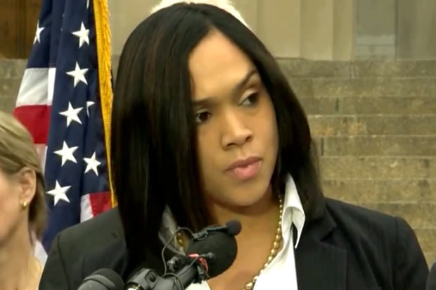 Freddie Gray jury nearly acquitted, shows how bad Marilyn Mosby's case is