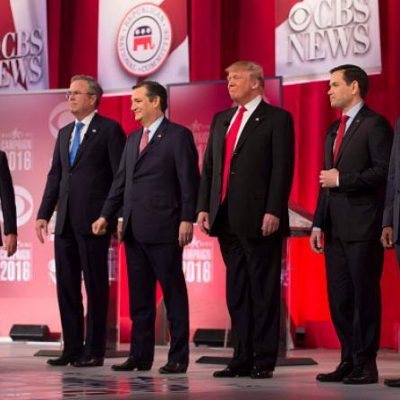 #GOPDebate: Schoolyard Brawl and Crazy Train