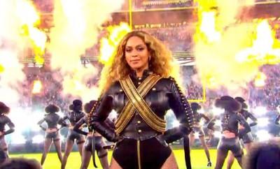 Beyoncé Salutes Black Panther Party at #SB50