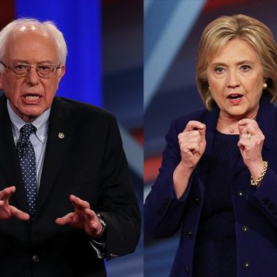 Hillary and Bernie and the CNN Town Hall