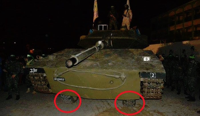 "Hamas Unveils New ""Tank"" on ""The Road of Jihad"""