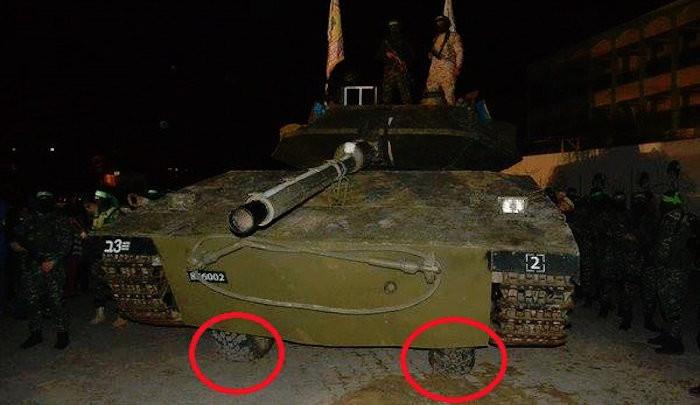 "Hamas Unveils New ""Tank"" on ""The Road of Jihad"""