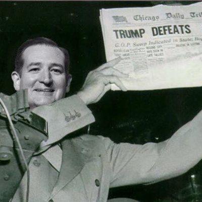 Trump Wants to Sue Cruz; Judge Says No Way