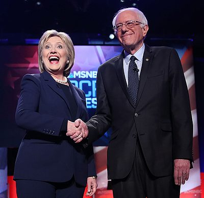 #DemDebate: Hillary And Bernie BickerFest Round 1  [Video]